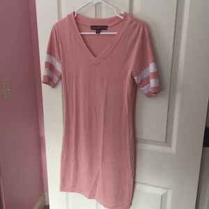 Women's Tight V-Neck Dress